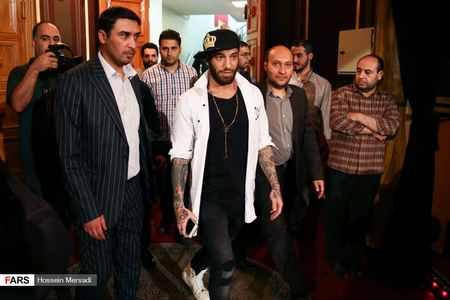 امیر تتلو و بهنوش بختیاری در جشن سالگرد فارس پلاس (4)