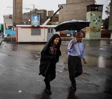 بارش باران تابستانی در تهران (10)