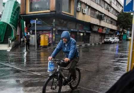بارش باران تابستانی در تهران (3)