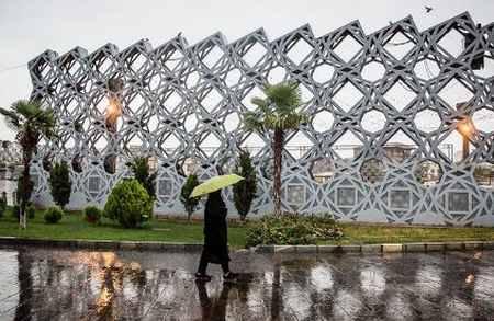 بارش باران تابستانی در تهران (9)