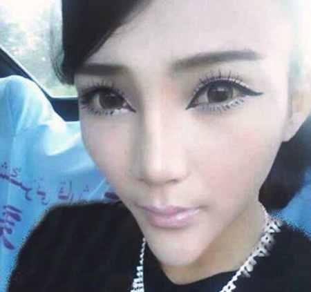 صورت مثلثی دختر چینی سوژه رسانه ها شد (2)