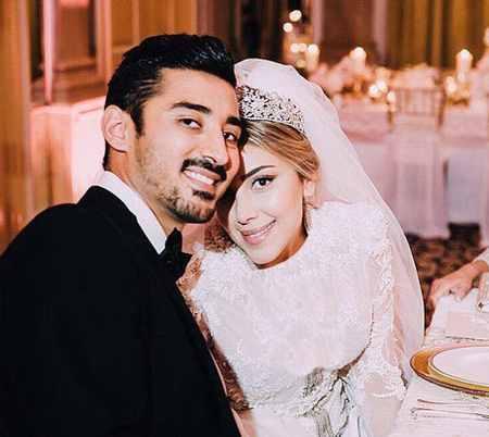 عکس عروسی رضا قوچان نژاد و سروین بیات (1)