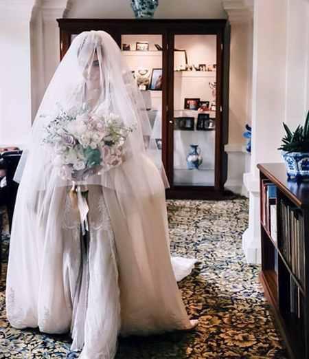 عکس عروسی رضا قوچان نژاد و سروین بیات (7)