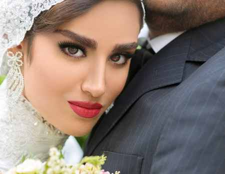 عکس های هانیه غلامی و همسرش در فستیوال عروس (1)