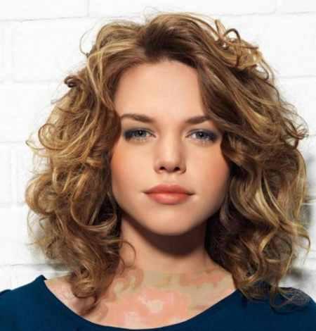 مدل مو کوتاه موج دار دخترانه (17)