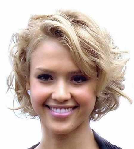 مدل مو کوتاه موج دار دخترانه (3)
