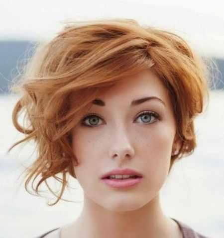 مدل مو کوتاه موج دار دخترانه (5)