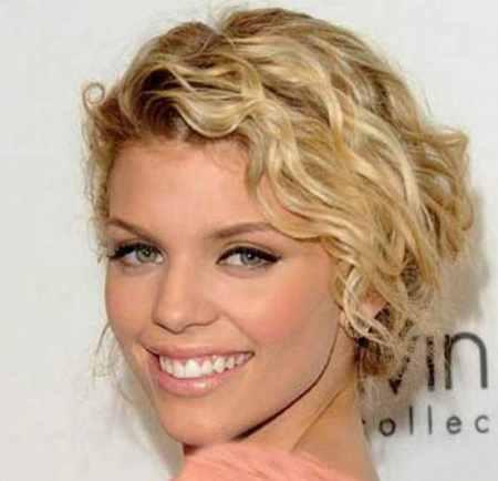 مدل مو کوتاه موج دار دخترانه (9)
