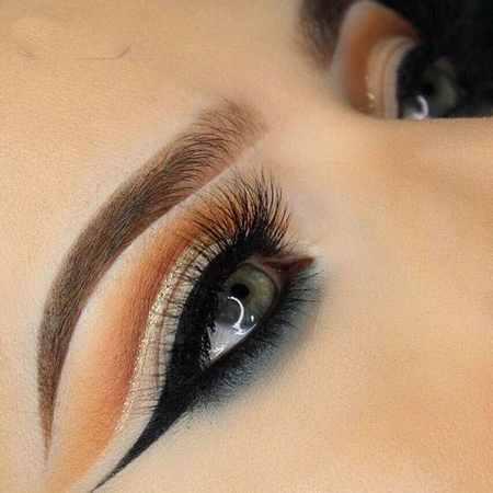 مدل های آرایش چشم Rachael Trudell (10)