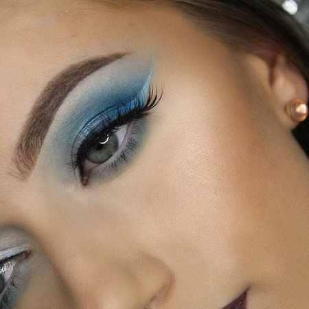 مدل های آرایش چشم Rachael Trudell (5)