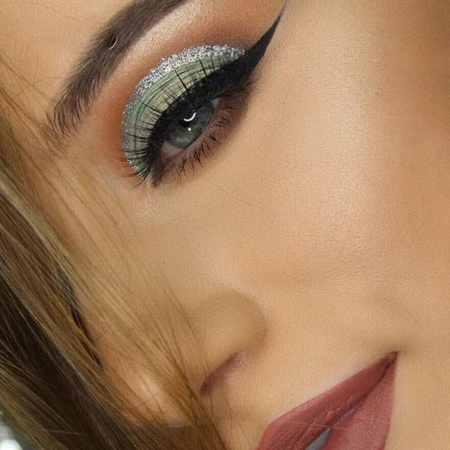 مدل های آرایش چشم Rachael Trudell (6)