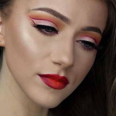 مدل های آرایش چشم Rachael Trudell (8)