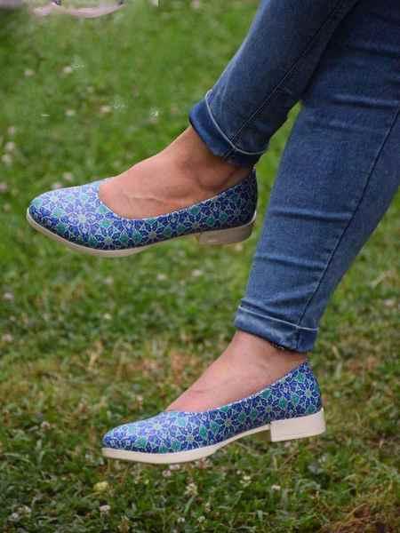 مدل های کیف و کفش طرح دار برند لیرو (4)