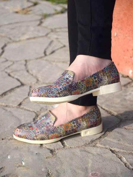 مدل های کیف و کفش طرح دار برند لیرو (6)