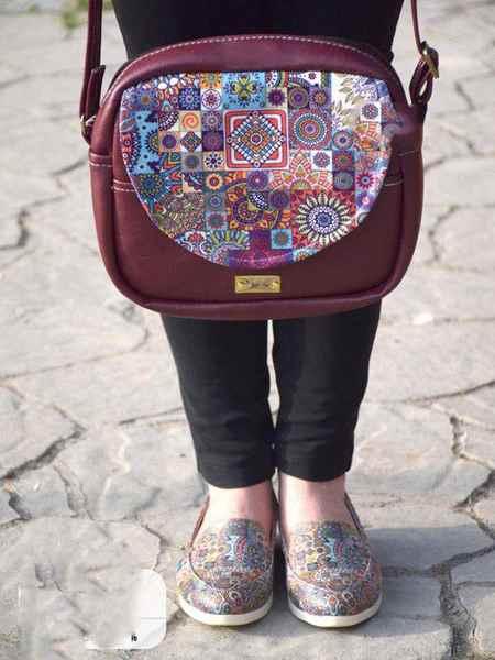 مدل های کیف و کفش طرح دار برند لیرو (9)