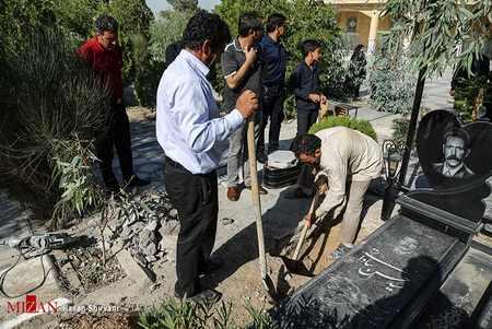 مراسم تشییع جنازه و خاکسپاری بنیتا (2)