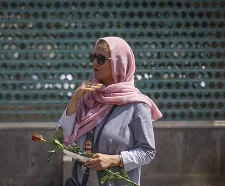 مراسم روز عفاف و حجاب در بازار تهران (5)