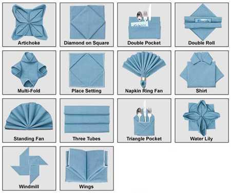آموزش تزیین دستمال سفره (11)