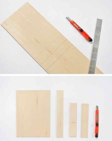 آموزش ساخت باکس چوبی دیواری (4)