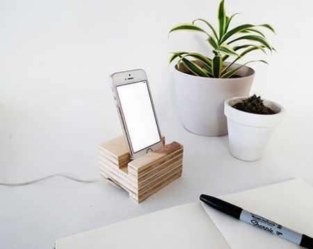 آموزش ساخت جا موبایلی چوبی (1)