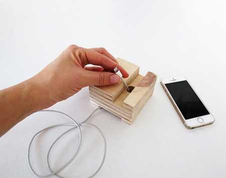 آموزش ساخت جا موبایلی چوبی (8)