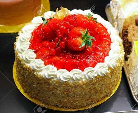 عکس های تزیین کیک با میوه (19)