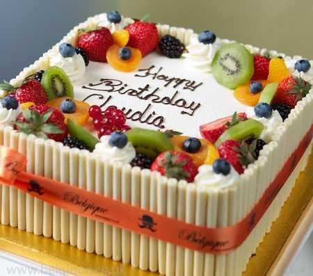 عکس های تزیین کیک با میوه (30)