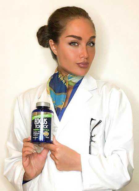 عکس های طلا گلزار در تبلیغات قرص ویتامین (3)