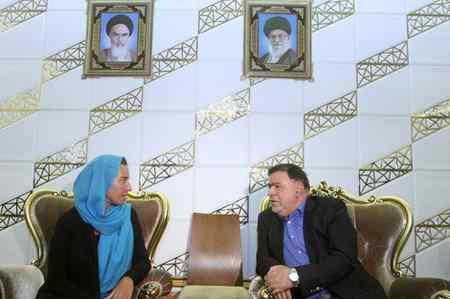 عکس های فدریکا موگرینی در تهران (3)
