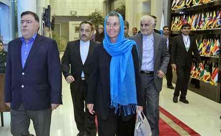 عکس های فدریکا موگرینی در تهران (6)