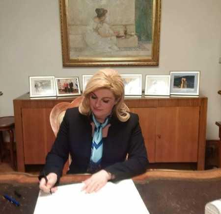 عکس های کالیندا کیتاروویچ رییس جمهور کرواسی (4)