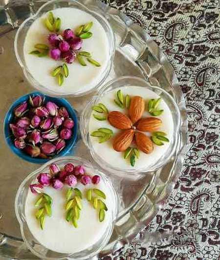 نمونه های تزیین شیر برنج مجلسی (10)
