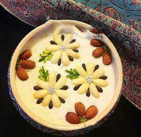 نمونه های تزیین شیر برنج مجلسی (9)