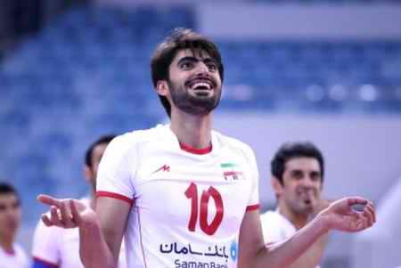 بیوگرافی امیر غفور والیبالیست ایران و همسرش (1)