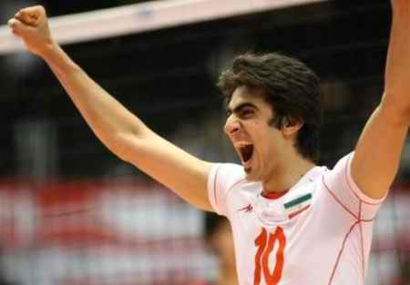 بیوگرافی امیر غفور والیبالیست ایران و همسرش (2)