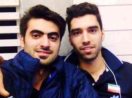 بیوگرافی امیر غفور والیبالیست ایران و همسرش (5)