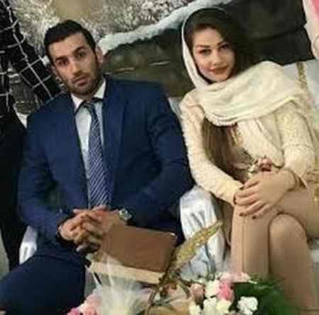 بیوگرافی رضا قرا والیبالیست ایران و همسرش (2)