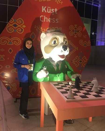 بیوگرافی سارا خادم الشریعه استاد شطرنج و همسرش (9)
