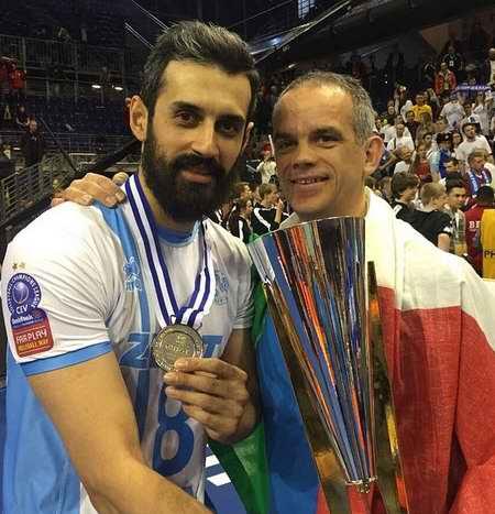 بیوگرافی سعید معروف والیبالیست ایران و همسرش (13)