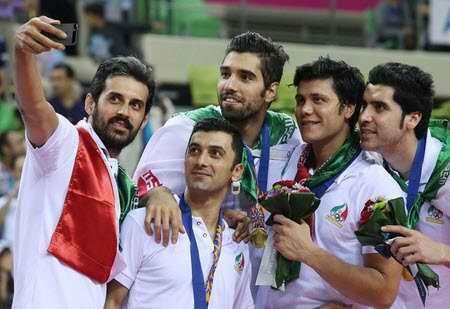 بیوگرافی سعید معروف والیبالیست ایران و همسرش (4)