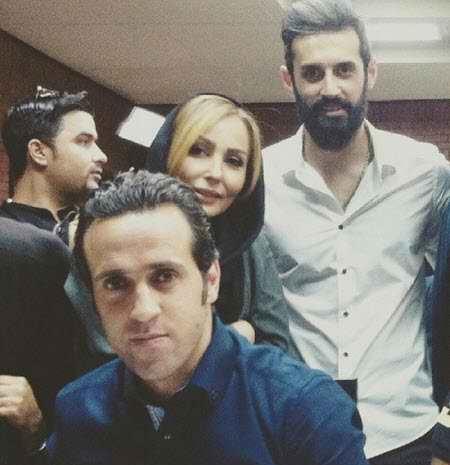 بیوگرافی سعید معروف والیبالیست ایران و همسرش (7)