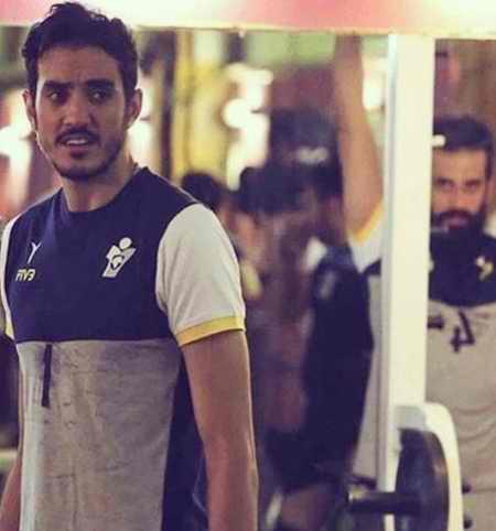بیوگرافی فرهاد سال افزون والیبالیست ایران و همسرش (6)