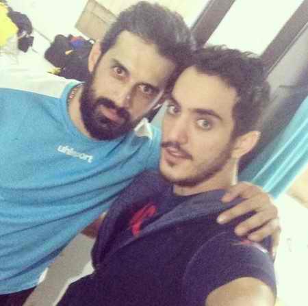 بیوگرافی فرهاد سال افزون والیبالیست ایران و همسرش (8)