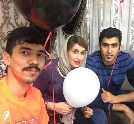 بیوگرافی فرهاد قائمی والیبالیست ایران و همسرش (11)