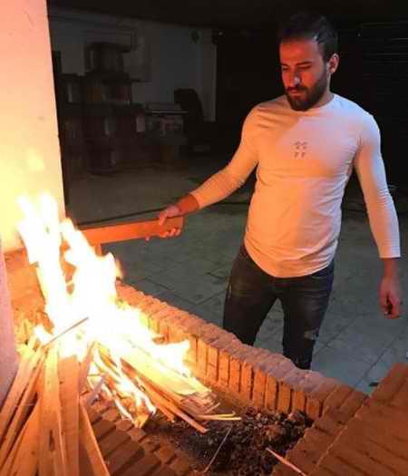 بیوگرافی مصطفی حیدری والیبالیست ایران و همسرش (4)