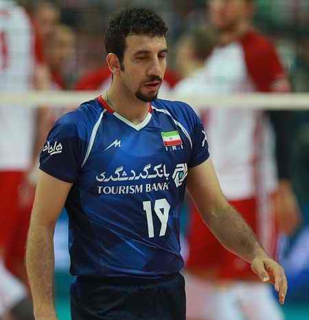 بیوگرافی مهدی مرندی والیبالیست ایران و همسرش (1)