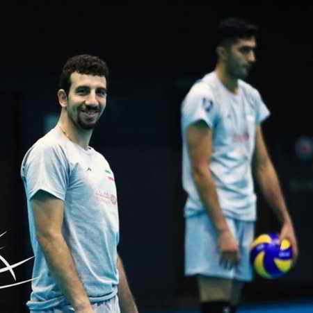 بیوگرافی مهدی مرندی والیبالیست ایران و همسرش (9)