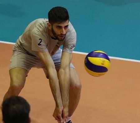بیوگرافی میلاد عبادی پور والیبالیست ایران و همسرش (1)