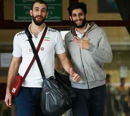 بیوگرافی میلاد عبادی پور والیبالیست ایران و همسرش (10)