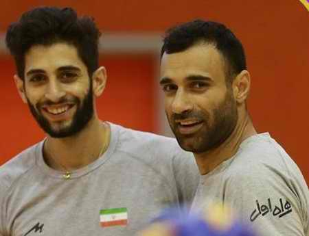 بیوگرافی میلاد عبادی پور والیبالیست ایران و همسرش (12)